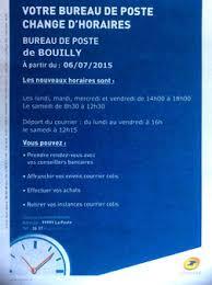horaire ouverture bureau de poste la bataille de la poste à bouilly site officiel de la commune