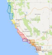 california map regions league of california cities california coastal comission regions