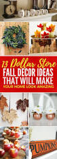 thanksgiving diy projects 13 dollar store fall decor ideas you u0027ll go gaga over fall decor