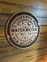new orleans water meter new orleans water meter woodblock neutral ground