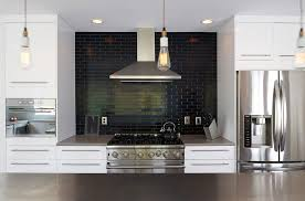 black subway tile kitchen backsplash subway tile backsplash ideas kitchen contemporary with bar pulls
