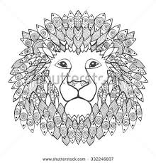 lions art therapy coloring pages pesquisa google create your