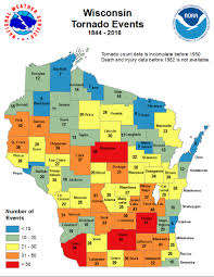 Kenosha Wisconsin Map by Natural Hazards Climate In Wisconsin State Climatology Office