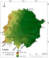 Isoline Map Sustainability Free Full Text Annual Precipitation Fluctuation