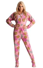 jumpin jammerz tough cookie footed pajama onesie