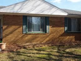 brick house trim brick skirting for house orange brick house trim