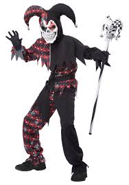 all white halloween mask child u0027s sinister jester costume