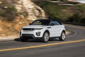 land rover evoque custom 2017 range rover evoque convertible first test motor trend