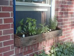 Herb Window Box Indoor Window Box Herb Garden Gardening Ideas
