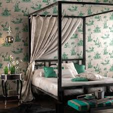 Poster Decoration Ideas Bedrooms With Four Poster Beds Decorating Ideas Interiors Red