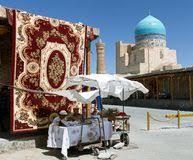 The Carpet Market The Carpet Stall Stock Photo Image 55723107