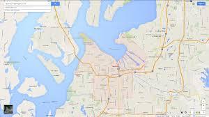 Google Maps Of The United States by Tacoma Washington Map