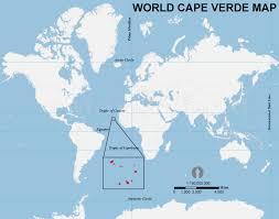 cape verde map world cape verde location map location map of cape verde
