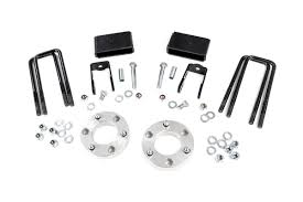 nissan titan quick lift rou 868 rough country 2in leveling lift kit fits 2016 nissan titan xd