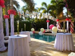 Pool Party Decoration Ideas Backyard Party Decorating Ideas There Are More Pool Party