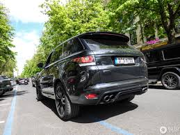 gold chrome range rover land rover range rover sport svr 4 may 2017 autogespot