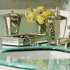 mirrored bathroom accessories create your unique style with mirrored bathroom accessories de