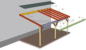 Attached Carports How To Build An Attached Carport Howtospecialist How To Build