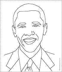 african american coloring pages president barack obama coloring