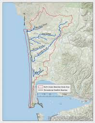 Washington Coast Map by Ecoconnect Fecal Matters Sleuthing For Bacteria Pollution On The