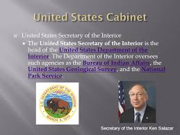 united states department of interior bureau of indian affairs the presidency and the executive branch ppt