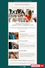 creativemarket fashion email newsletter template 244948 all