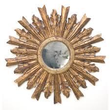 antique wall decor with gold sunburst mirror furniture aleksil com