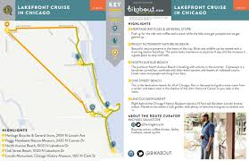 Chicago Redline Map by Lakefront Cruise In Chicago U2014 Bikabout