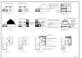 sample building plans and elevations homes zone