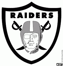 oakland raiders logo coloring page coloring pages ideas