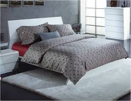 high quality 4pc bedding dog printed bed sheet grey