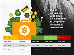 financial result presentation concept for powerpoint presentations