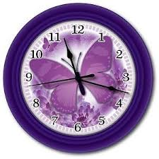 Butterfly Office Decor 116 Best Butterfly Clocks Images On Pinterest Wall Clocks