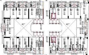 hotel floor plan dwg star hotel drawing dwg file
