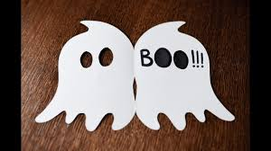 how to make very easy card halloween ghost step by step diy