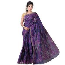 jamdani sharee exclusive cotton jamdani saree ts4991