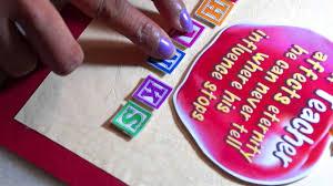 Invitation Card Design For Teachers Day Diy Card Making For Teacher U0027s Day Youtube