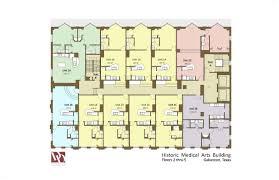 Historic Floor Plans Historic Medical Arts Building Residential Floorplans