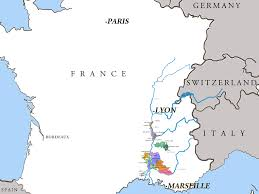 A Map Of France by Rhone Valley Wines France U0027s Prolific South East Wine Region From