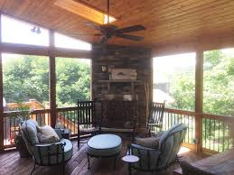 Screen Porch Fireplace by Screen Porches Archadeck Of Kansas City
