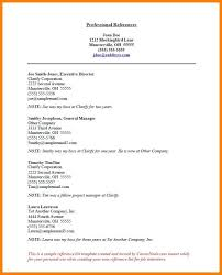 reference sample resume resume template references page sample