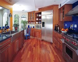 kitchen wood flooring ideas nothing like some wood finishing kitchens