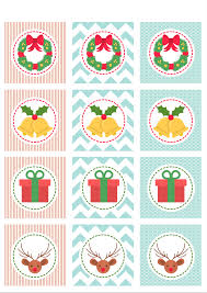 christmas cupcake toppers free printables