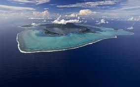 Bora Bora On Map Of The World by Pacific Oceanscape Conservation International