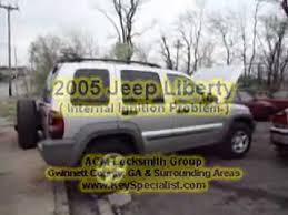 how to unlock a jeep liberty without atlanta ga 2005 jeep liberty ignition lock problem