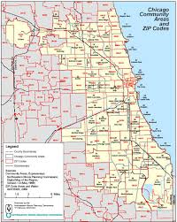 chicago zip code map chicago area code map my