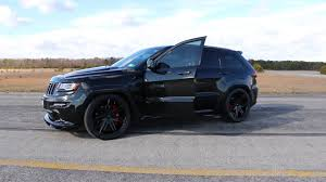 wrecked black jeep grand cherokee supercharged 2014 jeep grand cherokee srt8 for sale borla exhaust