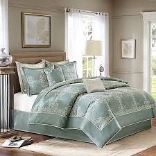 Madison Park Laurel Comforter Madison Park Signature Newhaven 8 Piece Comforter Set In Blue