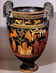 Greek Black Figure Vase Painting 1344 Best Grecian Urns And Vases Red And Black Figure Images On