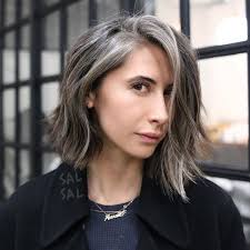 grey hairstyles for young women 56 best young and natural grey images on pinterest going gray
